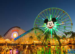 Disney California Adventure Map Disneyland Rides California Adventure Rides