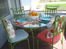 Wrought Iron Patio Table Set by How To Weatherize A Wrought Iron Table Set Into Patio Furniture