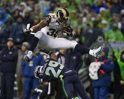 Tim Barnes St Louis Rams Seattle Seahawks Fall To St Louis Rams 23 17 The Seattle Times