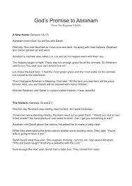 lesson 41 u2013 god u0027s promise to abraham ffwpu youth ministry