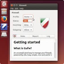 tutorial on ubuntu gufw firewall for ubuntu teklordz