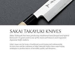 sakai takayuki knives artisan quality worldwide shipping
