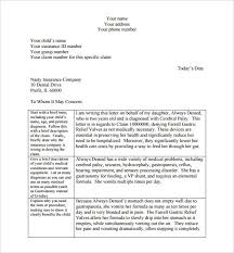 health insurance appeal letter template best business template