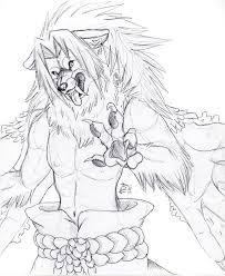 cs2 sasuke werewolf sketch by suenta deathgod on deviantart