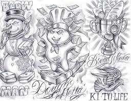 gangster tattoo designs free free tattoo flash tattoo