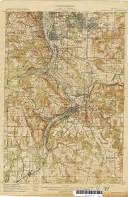 Portland Oregon County Map by