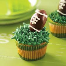 football cupcakes truffle football cupcakes recipe taste of home