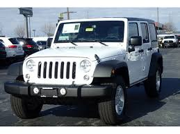 jeep cars white white jeep wrangler in illinois for sale used cars on buysellsearch