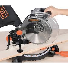 black u0026 decker m2500bd5 15 amp 10 in compound miter saw walmart com