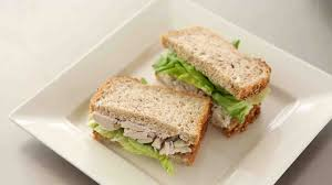 poached tuna poached chicken salad sandwiches