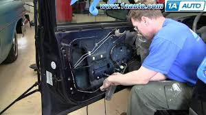 how to install repair replace power window motor chevy impala 00