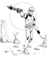 Star Wars Clone Trooper Coloring Pages Trends Book Star Wars Clone Wars Clone Coloring Pages