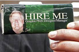 R  sum   writing      Keywords can make you stand out   Focus on job     Christian Science Monitor Vic Ziverts shows off his      Hire Me      chocolate bar  which includes his r  sum   on the wrapper  at a      job fair in Columbus  Ohio