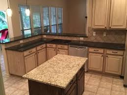 granite island kitchen absolute black granite kitchen surround with a venetian gold