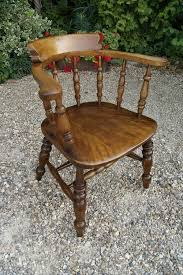 Antique Captains Chair Smokers Bow Or Captain U0027s Chair Antiques Atlas