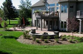 Firepit Pavers The Best Of Outdoor Living Paver Patio Pit Plantings