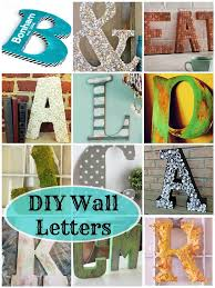 Letter Decorations For Walls 266 Best Diy Wall Letters Images On Pinterest Diy Wall
