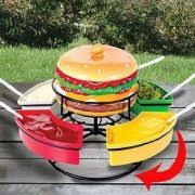Lazy Susan Turntable For Patio Table Lazy Susan Turntable Yamay Organizer 9 Inch Acrylic For Kitchen