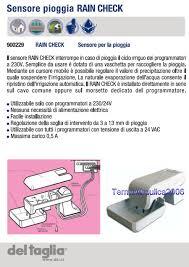 Mm Di Pioggia Rain Bird F30000 Sensore Per La Pioggia Rain Check Del Taglia