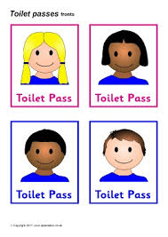 Printable Bathroom Passes Awesome 30 Bathroom Signs For Preschool Inspiration Of Classroom