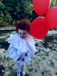 the cutest diy pennywise costume you will ever see homemade