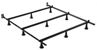 King Bed Frame Heavy Duty Leggett Platt King Metal Bed Frame With 9 Glides Legs And
