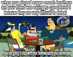 Smash Bros Memes - super smash bros meme by xoxe 070 memedroid