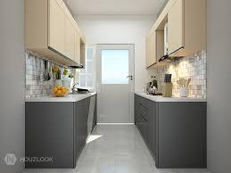 parallel kitchen ideas 6 x7 premier parallel shape kitchen houzlook