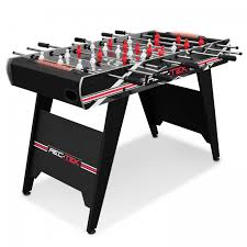 rec tek ping pong table rec tek 48 in foosball table with led lights