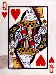 queen of hearts 120 jpg 406 588 playing cards pinterest