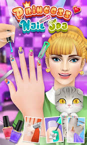 princess nail salon android apps on google play