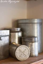 Silver Kitchen Canisters by 100 Vintage Metal Kitchen Canisters Storage Containers Jars