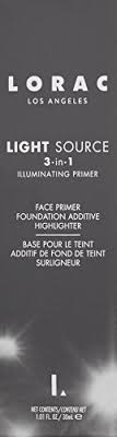 lorac primer light source lorac light source illimunating 3 in 1 primer dusk 1 01 fl oz