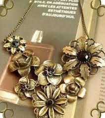 design modeschmuck xl halskette damen blatt natur glück kette mode gold 73 cm
