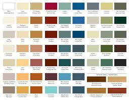 color charts for paint ideas angelus color charts how to make a