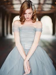 Blue Wedding Dress Marie Antoinette Ball Gown Wedding Dress By Sareh Nouri