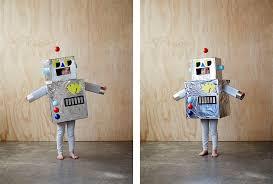 Kids Robot Halloween Costume Happy Halloween Spooky Treat Inspiration