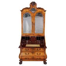 Antique Secretary Desk With Bookcase by Dutch Bureau Bookcase U2013 Jayne Thompson Antiques Inc