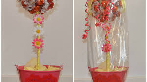Candy Topiary Centerpieces - make a fabulous candy tree centerpiece diy crafts guidecentral
