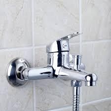 Bathtub Faucet Shower Diverter Ouboni Brass Faucet Spout Filler With Diverter Chrom Bathtub