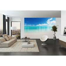 gorgeous 25 beach wall mural design decoration of best 20 beach beach wall mural paradise beach wall mural wr50525 the home depot