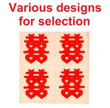 qoo10 wedding stickers shuang xi stickers chinese wedding