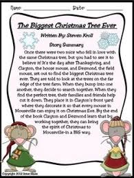 the biggest christmas tree ever a december book unit common