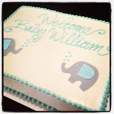 elephant baby shower cake cami u0027s cake co eudora ks www