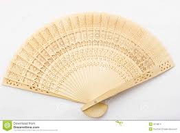 asian fan wooden asian fan stock images image 4218814