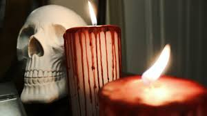 halloween candels diy bleeding halloween candles two ways youtube