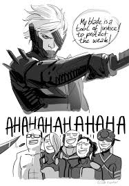 The Memes Jack - tool of justice metal gear rising revengeance know your meme