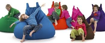 sitzsack für kinderzimmer sitzsack für kinder in katzenform aus angenehmer baumwolle in lila