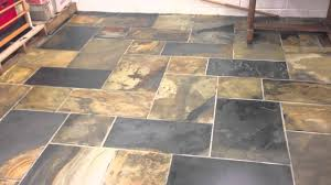 Best Way To Clean A Slate Floor by Slate Floor Cleaning And Sealing Bristol Youtube
