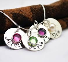 personalized children s jewelry personalized necklace mothers jewelry gift kids names